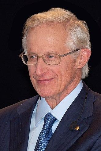 William Nordhaus - William Nordhaus after Nobel press conference in Stockholm, December 2018