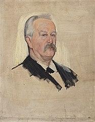 Portraitstudie Graf zu Innhausen-Knyphausen, Mitglied des Reichstages