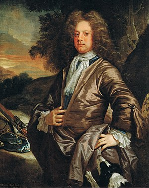 William Paul (bishop) - William Paul's only surviving grandson, William Paul, esquire, of Bray (1673–1711), by John Closterman.
