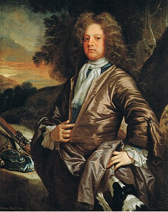 Greys Court - William Paul, Esq. of Bray (1673-1711), by John Closterman; his father James Paul bought Greys in 1688.