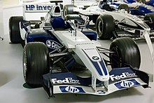 Photo de la Williams FW26