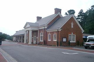Williamsburg Transportation Center railway station in Williamsburg, Virginia