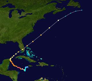 Meteorological history of Hurricane Wilma