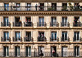 Windows and balconies, 26 Rue Soufflot, 75005 Paris, May 2015.jpg