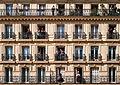 Windows and balconies, 26 Rue Soufflot, 75005 Paris, May 2015.jpg