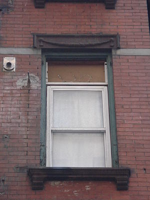109 Washington Street - Windows of 109 Washington Street, 2012