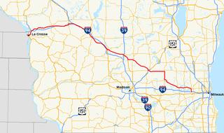 Wisconsin Highway 16 Highway in Wisconsin