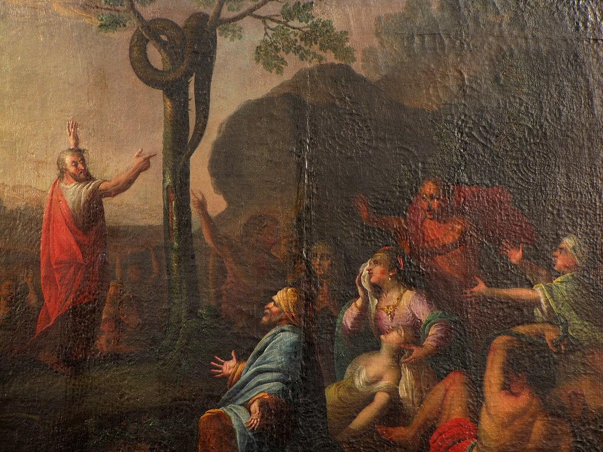 Moïse et le serpent d'airain