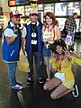 WonderCon 2011 - 2 Ashes, a Misty, and a Pikachu from Pokemon.jpg