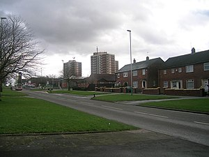 Langley, Greater Manchester - Image: Wood Street, Langley