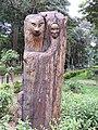 Wood art-1-cubbon park-India.jpg