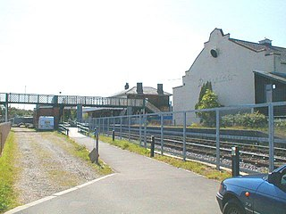 Woodbridge railway station Railway station in Suffolk, England