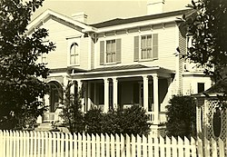 Woodrow Wilson Boyhood Home, 1705 Hampton St., Columbia (Richland County, South Carolina).jpg
