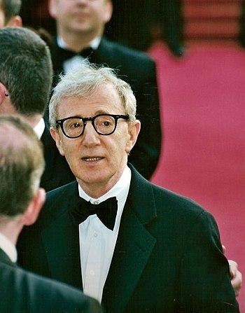 Français : Woody Allen au festival de Cannes.