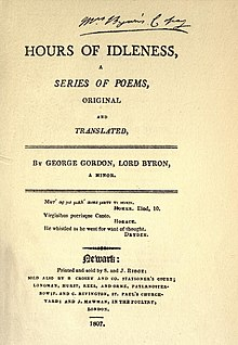 Works of Lord Byron Poetry Volume 1 facing page xii.jpg