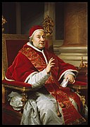 Workshop of Anton Raphael Mengs - Portrait of Pope Clement XIII - Walters 371700.jpg