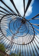 Worlds First Diagrid Hyperboloid by Shukhov 1896