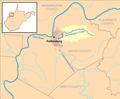 Worthington Creek map.png
