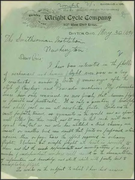 File:Wright brothers papers - wrightmay301899.djvu