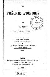 Charles Adolphe Wurtz: La théorie atomique