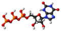 Xanthosine triphosphate molecule ball.png