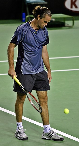 Xavier Malisse - Image: Xavier Malisse at the 2005 Australian Open