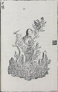 Nüwa Chinese goddess