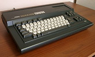 "MSX - Yamaha YIS503II MSX Personal Computer designed for Soviet schools (notice the abbreviature ""КУВТ"" which means ""Class of Teaching Computing Equipment)"""