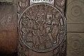 Yavamajhakiya Jataka - Medallion - 2nd Century BCE - Red Sand Stone - Bharhut Stupa Railing Pillar - Madhya Pradesh - Indian Museum - Kolkata 2012-11-16 1836.JPG