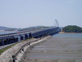 Seo District, Incheon - Yeongjong Bridge