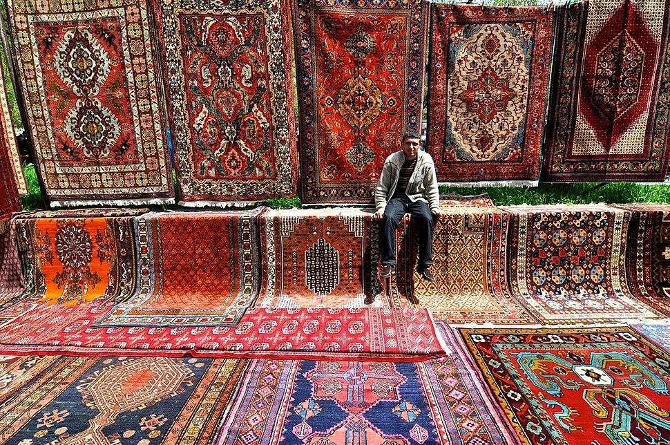 Yerevan Vernissage carpets