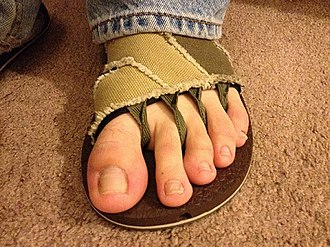 Sandal - Image: Yoga sandals
