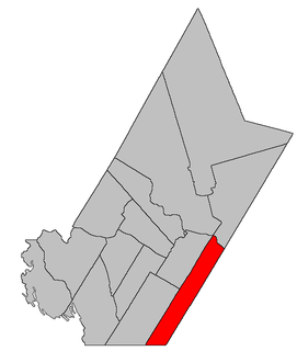New Maryland Parish, New Brunswick Parish in New Brunswick, Canada