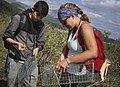 Youth from the Denali Summer Science Academy learn the process of capturing and collecting data from arctic ground squirrels by (e57e05b7-a81e-4947-a4ea-205e08452d00).JPG