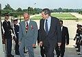 Yusuf bin Alawi bin Abdullah with Paul Wolfowitz, Pentagon, 2001.jpg