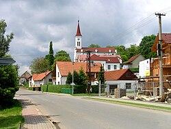 Zádveřice-Raková, Zádveřice, church.jpg