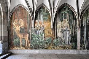 Fraumünster - Image: Zürich Fraumünster Kreuzgang IMG 1158 Shift N