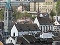 Zürich - Prediger - ETHZ - Sicht vom Grossmünster Karlsturm IMG 6412.JPG