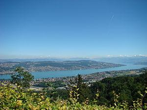 Zürichsee Uto Kulm