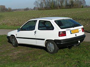 Citroën ZX - Citroën ZX 3-door