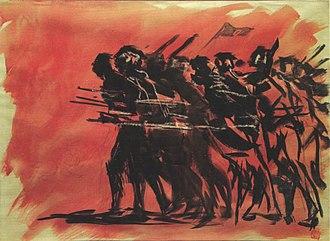 Zainul Abedin - Image: Zainul Abedin 1971