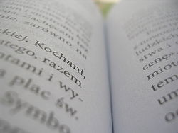 Zdjęcie makro książki