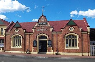 Zeehan School of Mines and Metallurgy - Former School of Mines