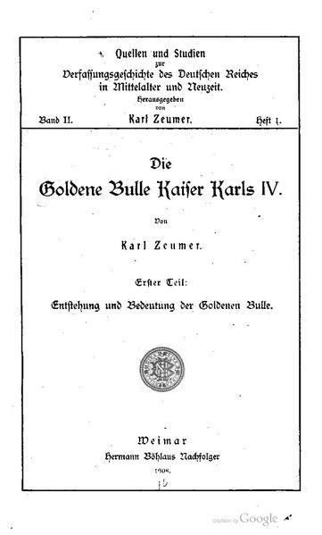 File:Zeumer Die Goldene Bulle.pdf