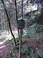Zinnwald Guidepost Aschergrabenweg 2015.jpg
