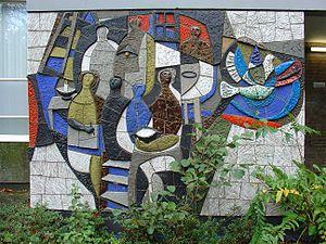 Cor Dam - Anne Frankschool Gouda, 1965