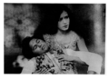 """Zubeida and Master Vithal in 'Alam Ara' (""""Jewel of the World"""") 1931 (14234579933).png"""