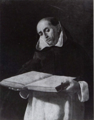 Dominican Saint Reading