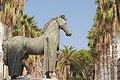 """""""....il monumento equestre e le sue palme..."""".jpg"""