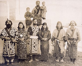 Demographics of Japan - Japanese Ainu group in 1904